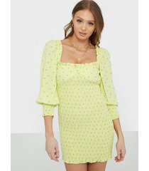 faithfull the brand gombardy mini dress fodralklänningar