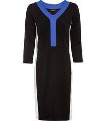 abito di jersey color block (nero) - bodyflirt