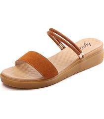 sandali multi-way in pelle di mucca