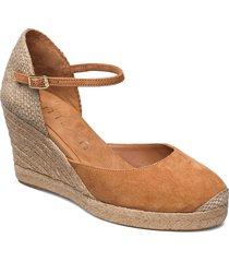 castilla_21_ks sandalette med klack espadrilles beige unisa