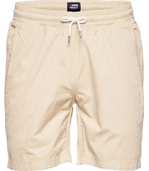 drawstring organic short shorts casual beige denim project