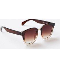 loft glam square sunglasses