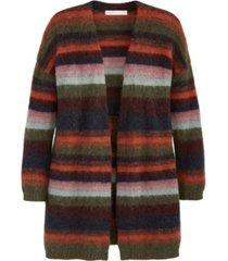 adyson parker women's ombre stripe open cardigan