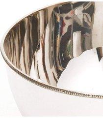 fruteira em prata grande - incolor - dafiti