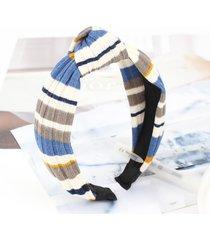 womens wool vogue wild confortevole stripe headwear travel home make up fascia casual