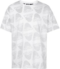 haculla watching you drop-shoulder t-shirt - white