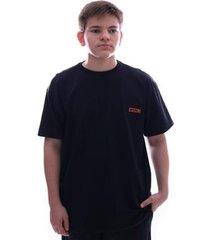 camiseta fatal fashion basic plus size preto - masculino