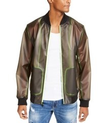 inc men's transparent jacket, created for macy's