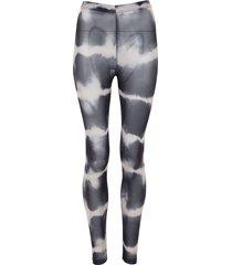 155783 jury tie dye mesh leggings
