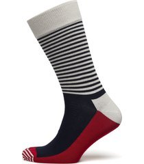 half stripe sock underwear socks regular socks blå happy socks