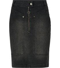 jeanskjol lucienne denim utility skirt