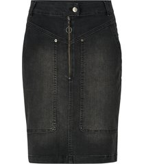 jeanskjol lucienne denim utility skirt