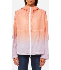 hunter women's original colour haze rp jacket - stone - m - beige