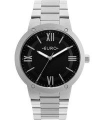 relógio feminino euro eu2035ymw/3k aço