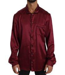 100% zijde top nachtkleding shirt