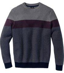 maglione con scollo rotondo (grigio) - bpc bonprix collection
