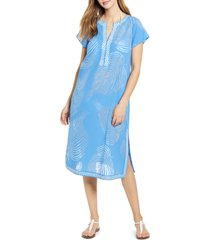 women's vineyard vines palm front cover-up tunic dress