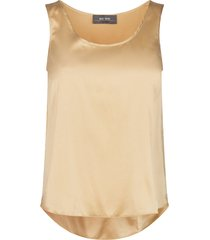 astrid silk tank top topper