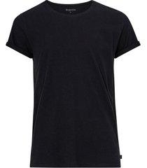 t-shirt jimmy solid cotton-linen