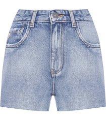 short feminino matilda - azul