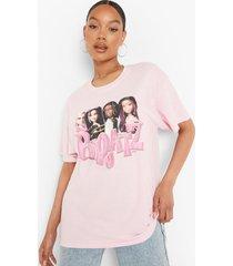 oversized gelicenseerd bratz t-shirt, light pink