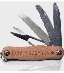 scyzoryk drewniany tata macgyver