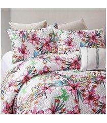 koc pled narzuta na łóżko 260x250 cm el flor