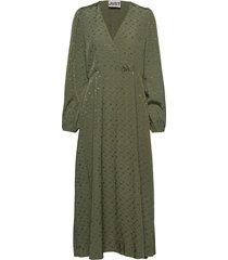 alvina dress maxi dress galajurk groen just female