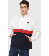 chaqueta blanco-rojo-azul tommy hilfiger