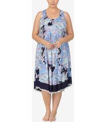 ellen tracy plus size knit ballet nightgown, online only