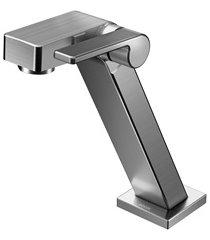 torneira para lavatório de mesa bica baixa stillo grafite escovado