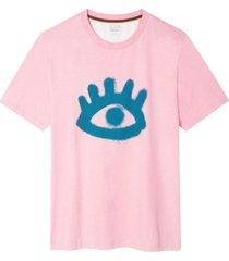 'eye' print t-shirt