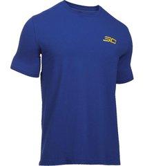 camiseta azul under armour sc30