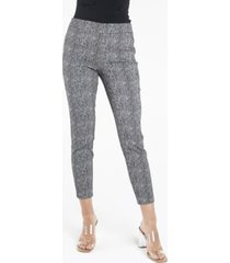 nanette nanette lepore pull on textured slim leg pants