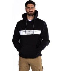 hoodie  canguro lab negro gangster