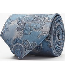 krawat paisley grafit 104