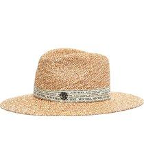 'henrietta' print tape hat