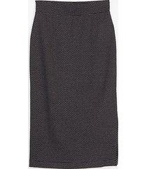 lou & grey lou & grey pindot midi skirt