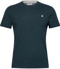 fineliner t- t-shirts short-sleeved grön tom tailor