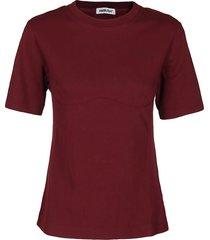bordeaux cotton t-shirt