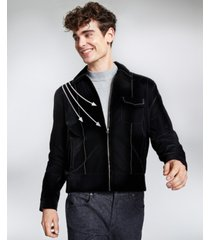 collectif men's jonathan piped jacket