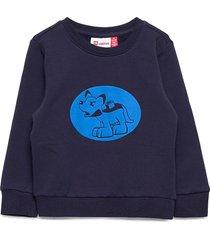 lwsolar 100 - sweatshirt sweat-shirt tröja blå lego wear