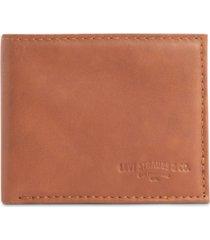 levi's men's extra-capacity slimfold rfid wallet