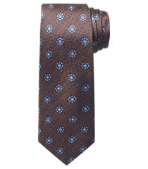 1905 collection round medallion tie - long clearance
