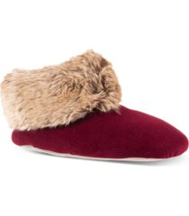 isotoner signature women's sabrine bootie slippers, online only
