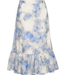 shakira knälång kjol blå baum und pferdgarten