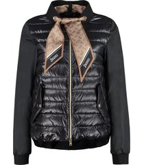 herno scarf detail jacket