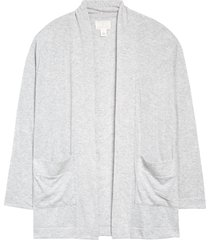 women's caslon open front cardigan