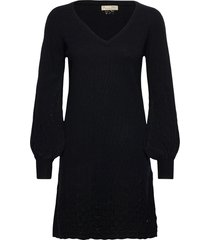 sim dress dresses knitted dresses zwart odd molly