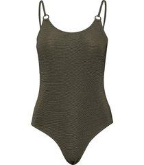 alchemy circle swimsuit baddräkt badkläder grön superdry
